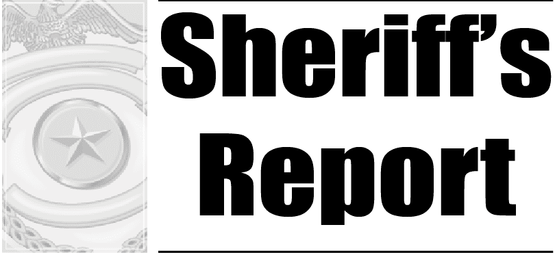 This week's sheriff's report 9-12-18 - The Tomahawk